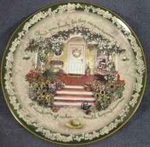 Cherish Your Family Collector Plate First in Welcome Home Series Glenna ... - $21.97