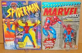 Vtg 1990 ToyBiz Marvel Super Heroes & 1994 Animated Series SPIDER-MAN | ... - $34.77
