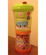 Snacktime On The Go Cup EZ Freeze Gel Travel Food Storage Snack Containe... - $8.75
