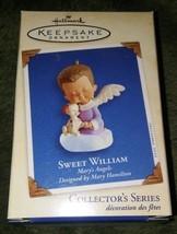 Sweet William Mary's Angels Collectors Series Keepsake Ornament - $10.89