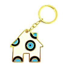Evil eye keychain good luck charm for home protection, bag charm, greek ... - $11.88