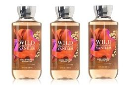 Bath & Body Works Wild Madagascar Vanilla Shea & Vitamin E Shower Gel 10... - $49.99