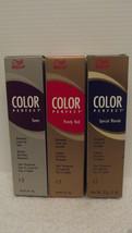 Originale Wella Colore Perfetto Toners Capelli Crema Gel 59ml (Lotto di ... - $30.07