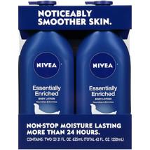 NIVEA Essentially Enriched Body Lotion (21 fl. oz., 2 pk.) - $16.86