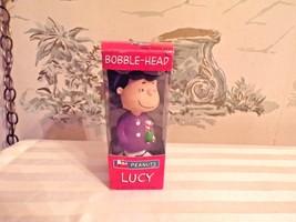 "7"" Peanuts Lucy Christmas Bobblehead Wacky Wobbler by Funko in original box - $17.33"
