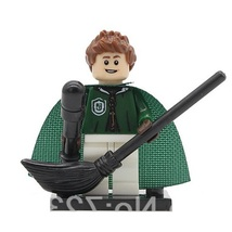 1pcs Slytherin Quidditch Figure Harry Potter Minifigures Single Sale Leg... - $1.99
