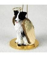 BORDER COLLIE  ANGEL DOG CHRISTMAS ORNAMENT HOLIDAY  Figurine Statue  - $14.99