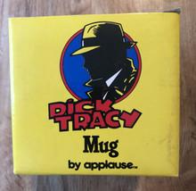 NEW Disney's Dick Tracy LOGO Mug By Applause In Original Box Vintage Nev... - $12.87