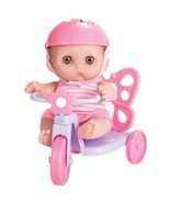 JC Toys Berenguer 8.5 Lil' Cutesies Doll with Butterfly Tricycle by JC Toys - $59.95