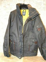 The North Face Mens Cryptic Hyvent Snowboarding Brown Jacket Size Medium EUC  - $148.44