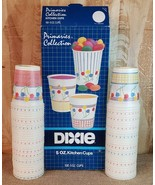 DIXIE Kitchen 5 OZ Cups 1980's Retro Vintage Gently Used 70 CUPS remaining - $23.95
