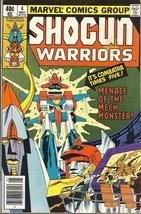 (CB-9) 1979 Marvel Comic Book: Shogun Warriors #4 - $8.00