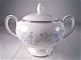 Wedgwood Belle Fleur Sugar Bowl with Lid - $31.64