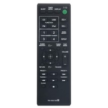 Rm-Amu185 Replaced Remote Fit For Sony Home Audio System Mhc-Ec619Ip Ss-Ecl5 .. - $19.99
