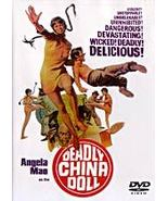 Deadly China Doll DVD Chinese Kung Fu Martial Arts Angela Mao, Carter Wong - $19.99