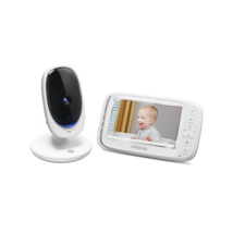 "Motorola Comfort 50 5"" Display Video Baby Monitor (White) - $45.66"