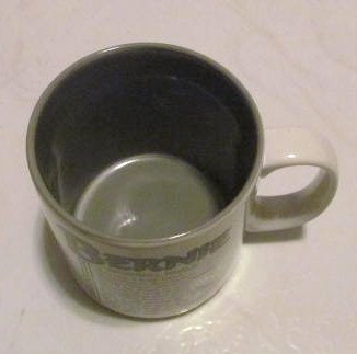 """Bernie Name Meaning """"BRAVE"""" Poem byn Marci G. Coffee Collectible Name Mug Papel"""