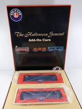 Lionel 6-52405 The Halloween General Two Car Add-On Set O O27 Gauge NEW - $138.59