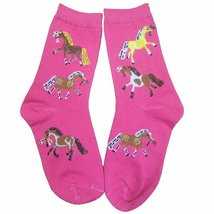 Pony Socks Kids 3 pack Youth 5 to 7 image 2