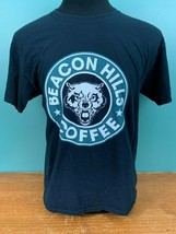Beacon Hill Coffee Men's T-Shirt - Size Large - Black, 100% Cotton, EUC - $6.99