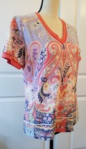 Etro Spa Designer Women's Multi Colored Top  Size 48 / L  image 2
