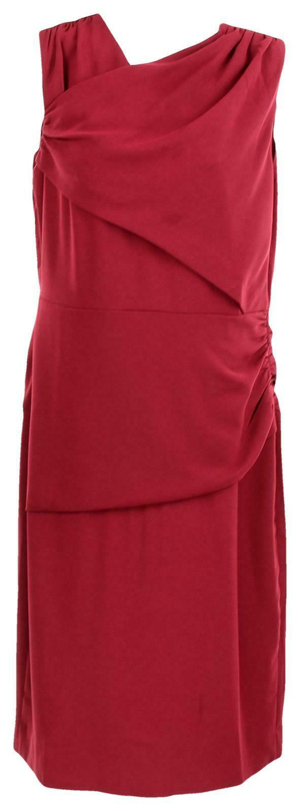 J Crew Women's High Neck Sheath Dress Everyday Lucky Crepe Wear to Work 8 J7452
