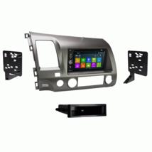 DVD BT GPS Navigation Multimedia Radio and Dash Kit for Honda Civic 2006... - $296.88
