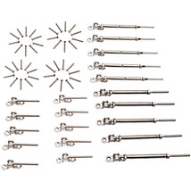 """10 T316 Stainless Steel Tensioner Set w/Deck Toggle for 1/8"""" Cable Raili... - $77.52"""