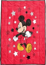MICKEY MOUSE SHERPA BLANKET (twin/full size) - $35.00