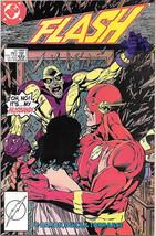 The Flash Comic Book #5 Second Series DC Comics 1987 VFN/NEAR MINT NEW U... - $3.99