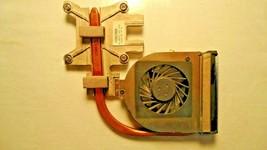 HP CQ60z-200  Heatsink with Fan Genuine Laptop Heat  Cooler Fan Heatsink Cpu - $45.05