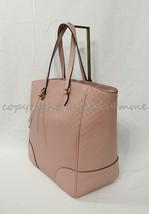 Gucci Large Bree Tote in Micro Guccissima GG Soft Pink Leather 449242.BM... - $949.00