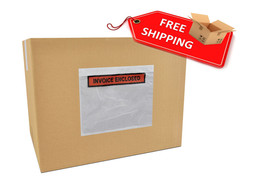 "7000 Packing list slip Invoice Holders Enclosed 4 1/2"" x 5 1/2"" Back sid... - $127.36"
