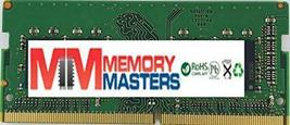Memory Masters 4GB DDR4 2400MHz So Dimm For Gigabyte P34K v7 - $45.39