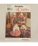 """Western Stuffed Bunny Clothes Simplicity Crafts Sewing Pattern 8270 23"""" ... - $12.99"""