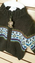 Nwt Gymboree Teedy Bear Boy Sweater Size 0-3 Months - $14.84