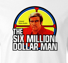 This Six Million Dollar Man T shirt L/S Bionic Man retro 1970s Long Sleeve tee image 2