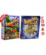 Time-Twister + Wacky World Combo Rollercoaster 2 Expansion Pack PC CD-RO... - $12.86