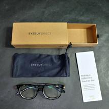 EyeBuyDirect Eyeglass Frames ONLY w/ Pouch, Jasmine S, 47-15-135 - $19.28