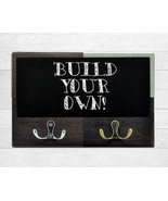 Custom Made Decor for Kitchen Wall, Wooden Message Board, Dog Leash & Co... - $20.39