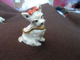 New metal hinged, jeweled trinket box - choice image 9