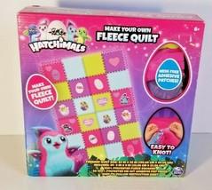Hatchimals Make Your Own Fleece Quilt 59 X 39in kids crafts  - $14.84