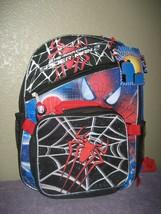 Marvel Spider-Man 16 Backpack Lunch - The Amazing Spider-Man 2 Blue & Black - $15.85