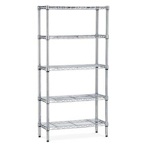 CLEARANCE 5 Tier Metal Shelf Unit Storage Organ... - $69.29 - $74.20