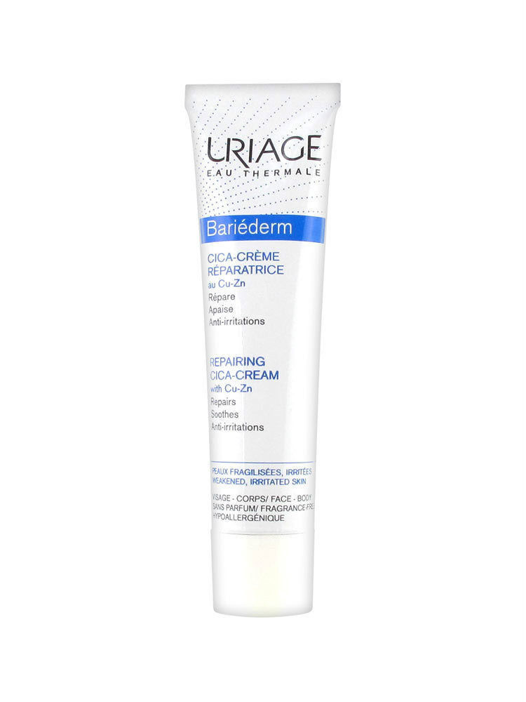 URIAGE BARIEDERM CICA with CU-ZN SKIN repairing barrier Cream
