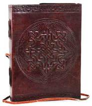 Celtic Knot leather blank book w/ cord - $24.00