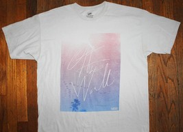 VANS / OFF THE WALL / CALIFORNIA USA AMERICA / SK8 SKATE WHITE T- SHIRT ... - $19.99