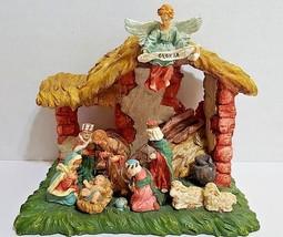 """Nativity Creche - Resin - 8"""" Tall X 9"""" x 7"""" - NWOT - $34.58"""