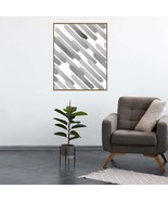 Watercolor Print, Abstract Wall Art, Black And White Watercolour Painting - $1.10