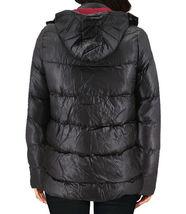 Women's Slim Fit Lightweight Zip Insulated Packable Puffer Hooded Jacket image 3